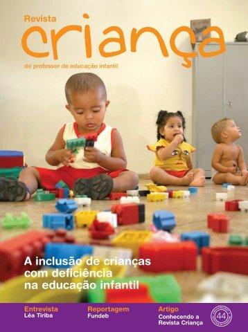 A inclusão de crianças com deficiência na educação infantil