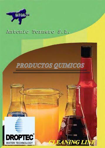 productos quimicos droptec-sitoran - antoniotornero.com