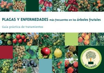PLAGAS Y ENFERMEDADES más frecuentes en los árboles frutales