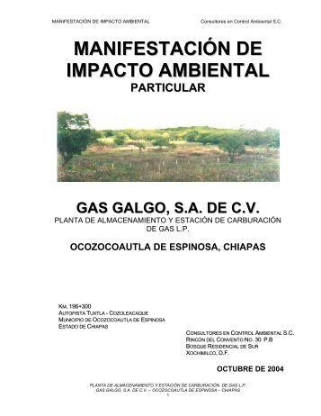 Planta de almacenamiento y estación de carburación de gas L.P.