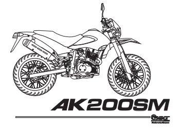 Manual AK200SM BIEN - AKT Motos