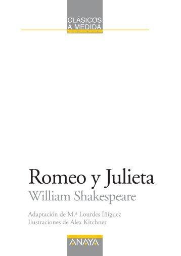 Romeo y Julieta, edición adaptada (capítulo 1) - Anaya Infantil y ...
