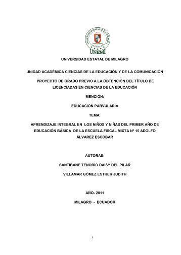 186 APRENDIZAJE INTEGRAL.pdf - Repositorio de la Universidad ...