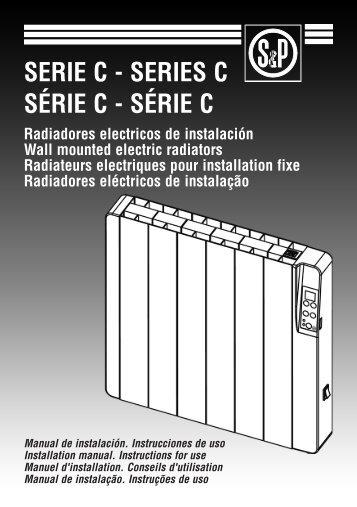 Manual de usuario Serie C - Soler & Palau Chile