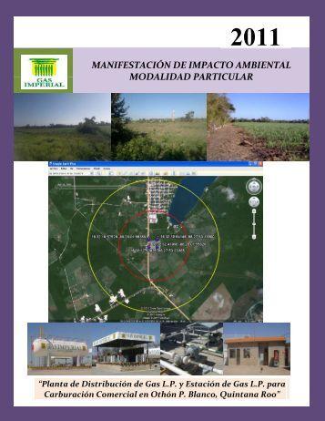 manifestación de impacto ambiental modalidad ... - sinat - Semarnat