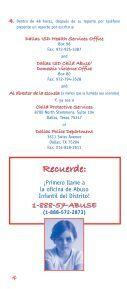 El Abuso Infantil - Page 5