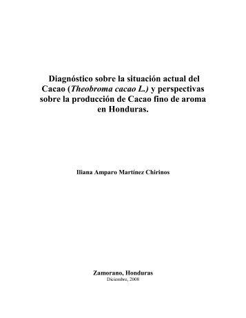 Diagnóstico sobre la situación actual del Cacao - Negocios Verdes ...