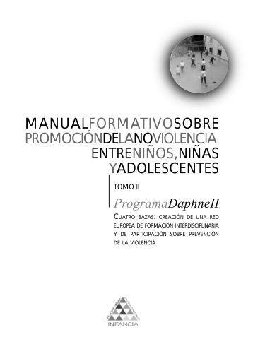 Manual formativo sobre promoción de la no violencia ... - Buen Trato