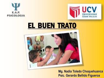 """Diapositivas""""El buen trato"""" - Ugel 05"""
