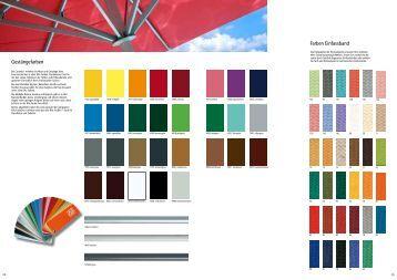 caravita sonnenschirme und zubeh r preisliste pdf datei. Black Bedroom Furniture Sets. Home Design Ideas