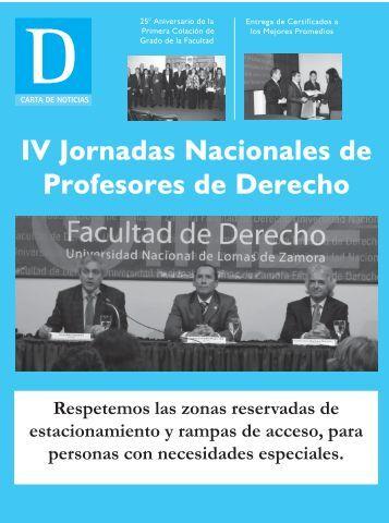 Edición Octubre 2012 - Facultad de Derecho - UNLZ - Universidad ...