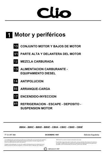 Motor y periféricos - Centro Renault