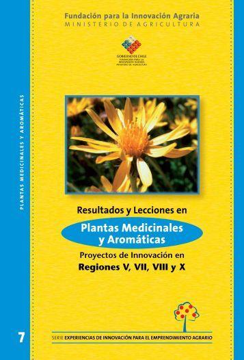 Plantas Medicinales y Aromáticas - Biblioteca Digital ...