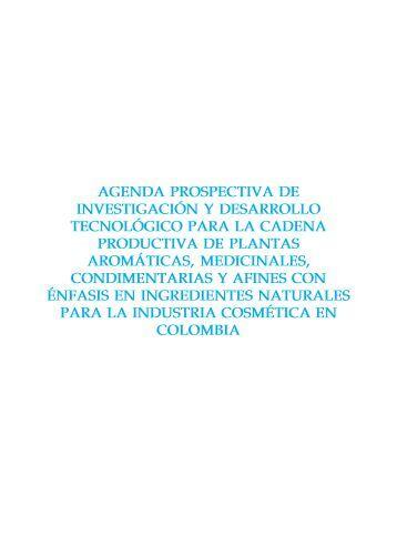 Cadena Productiva de Plantas Aromáticas, Medicinales ...