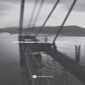 Camiños, canais e portos - Universidade da Coruña