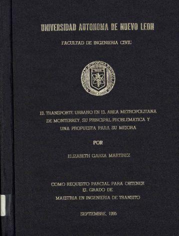 Preliminares. - cdigital - Universidad Autónoma de Nuevo León