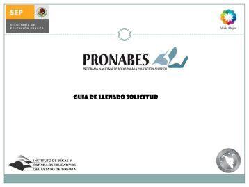 BECAS PRONABES - Universidad Tecnológica del Sur de Sonora