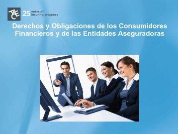 Derechos y Obligaciones de los Consumidores ... - ACE Group