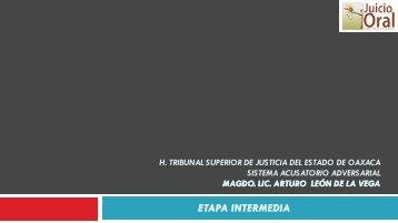 Etapa Intermedia - Supremo Tribunal de Justicia del Estado de Colima