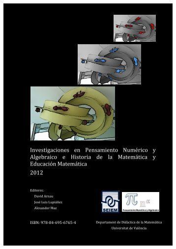 Investigaciones en Pensamiento Numérico y Algebraico e Historia ...