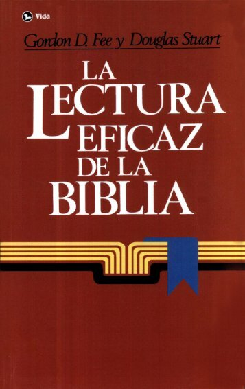 lectura eficaz de la Biblia - iglesia El Redentor