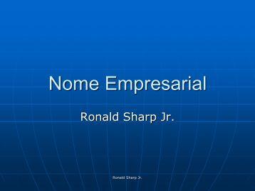 Nome Empresarial - Jucerja