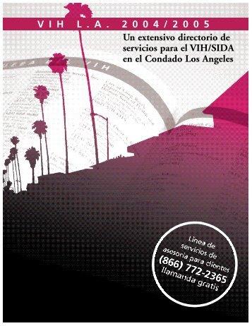 VIHL . A . 2 0 0 4 / 2 0 0 5 Un extensivo directorio de servicios para ...