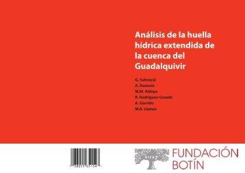 Análisis de la huella hídrica extendida de la cuenca del Guadalquivir