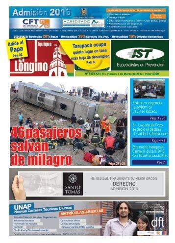 46 pasajeros salvan de milagro - Diario Longino