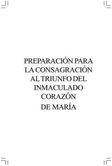 Consagracion al Inmaculado Corazon de Maria (33 dias - Recursos ...