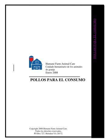 POLLOS PARA EL CONSUMO - Certified Humane