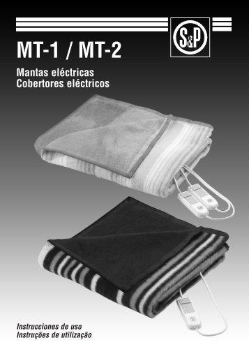 Manual de usuario MT-1 / MT-2 - Soler & Palau
