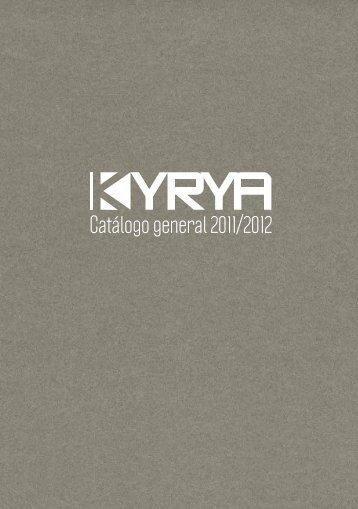 Catálogo general 2011/2012 - Kyrya
