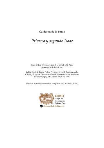 Primero y segundo Isaac - Universidad de Navarra