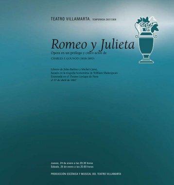 Romeo y Julieta - La Arcadia Jerez