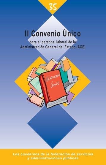 Texto del II Convenio Único para el personal laboral de ... - sac.csic.es