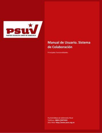 Sistema de Colaboración: Correo Electrónico - Desarrollo - Psuv