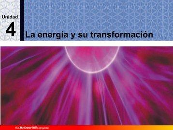 La energía y sus manifestaciones - IES Campanillas