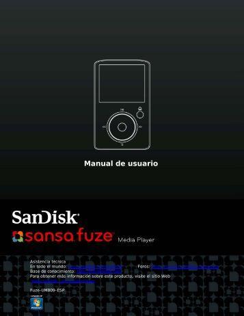 Manual de usuario - SanDisk