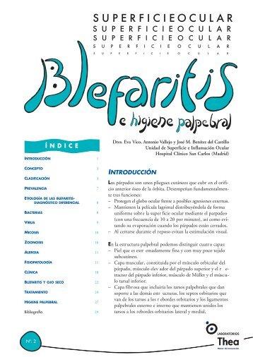superficie ocular BLEFARITIS - Laboratorios Thea