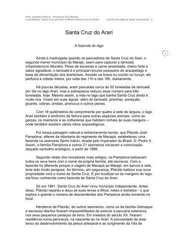 Santa Cruz do Arari - Viva Marajó