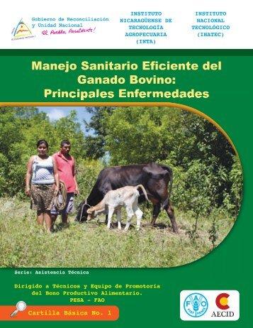 Manejo sanitario eficiente del ganado bovino: Principales