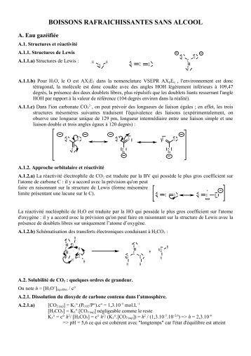 Agr U00e9gation Interne 2005 Sciences Physiques Epreuve De Chimie