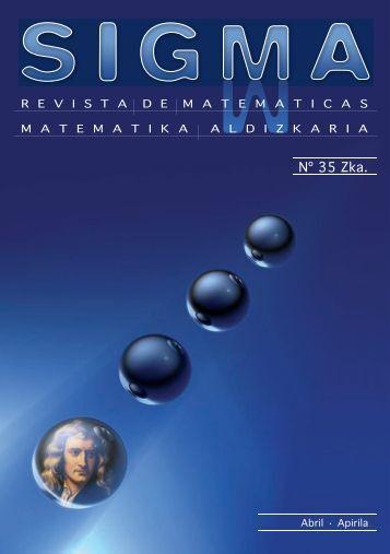 Sigma 35 - Hezkuntza, Unibertsitate eta Ikerketa Saila - Euskadi.net