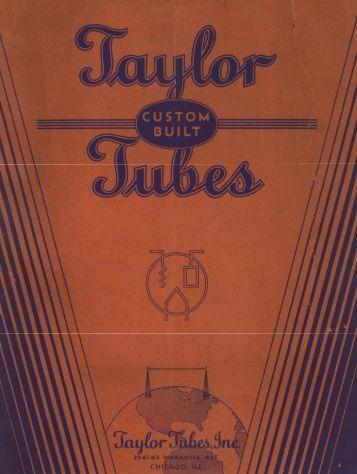 Taylor Tubes Catalog - tubebooks.org