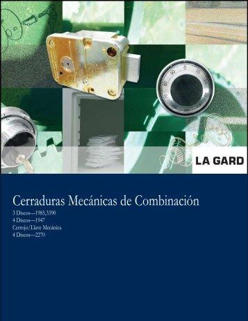 Cerraduras Mecánicas de Combinación - Kaba México
