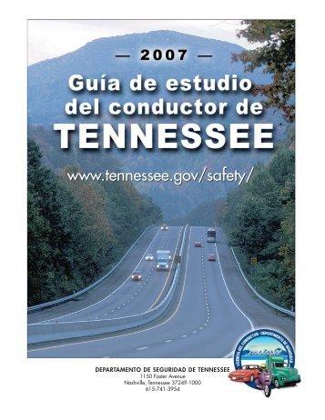 Capítulo 4 REGLAS DE TRÁNSITO - TN.gov