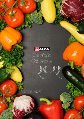 Catalogo catalogue 2012 - Alza