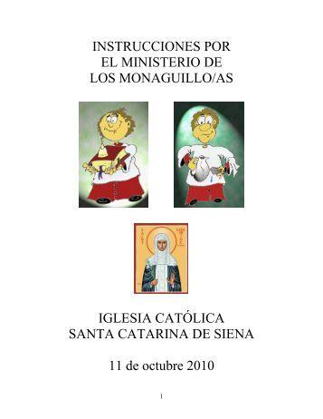 Instrucciónes por los Monaguillos (2010).pdf - St. Catherine of Siena