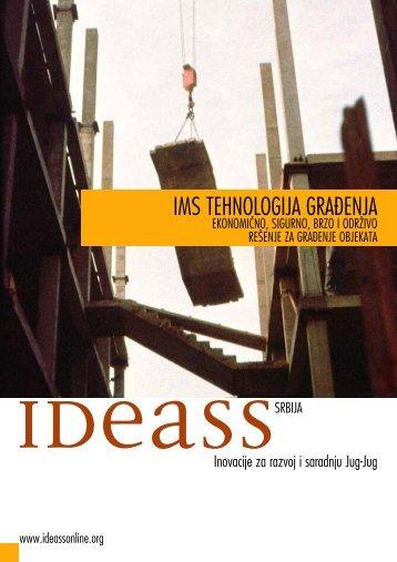 IMS TEHNOLOGIJA GRAĸENJA - Institut za ispitivanje materijala IMS